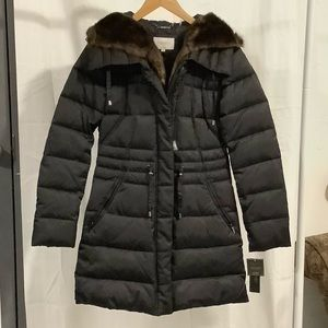 NWT Laundry by Shelli Segal Hooded Coat